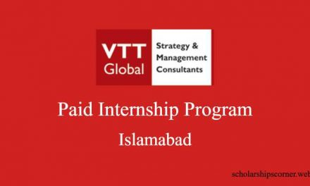 VTT Global Internship Program 2018 in Islamabad – Paid Internship
