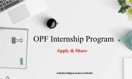 Overseas Pakistan Foundation OPF Internship Program for Overseas Pakistanis