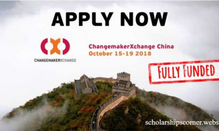 Ashoka ChangemakerXchange [Funded) Program China 2018