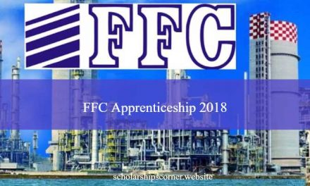Fauji Fertilizer Company Limited FFC Apprenticeship 2018