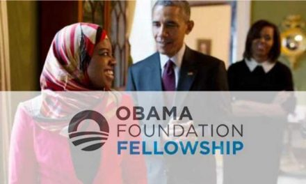 2019 Obama Foundation Fellowship Programme in USA