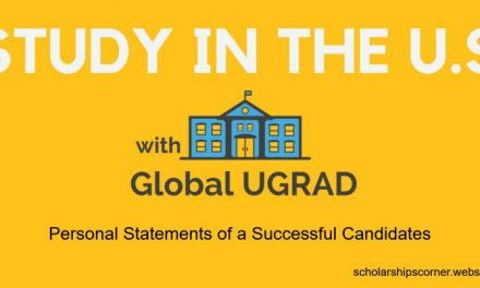 Global Ugrad Personal Statements of a Successful Candidates