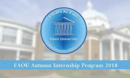 FAOU Autumn Internship Program 2018 – Online Internship Program