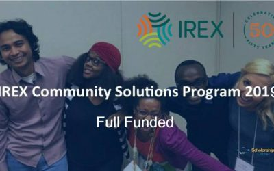 IREX Community Solutions Program 2019-2020 in USA – Fully Funded