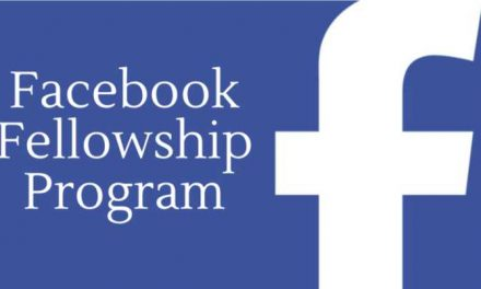The Facebook Fellowship Program 2109 [Fully Funded]