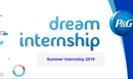P&G UK Sales Summer Internship 2019 –  Procter & Gamble Internship