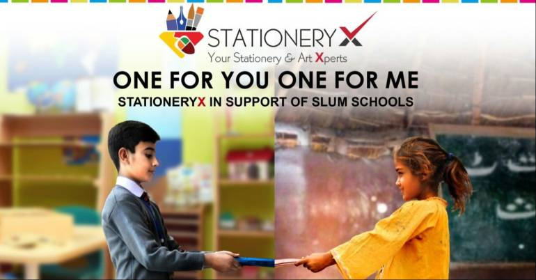 StationeryX Charitable Initiative – To Keep Potential Kids in School