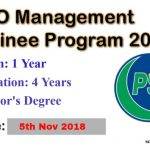 PSO Management Trainee Program