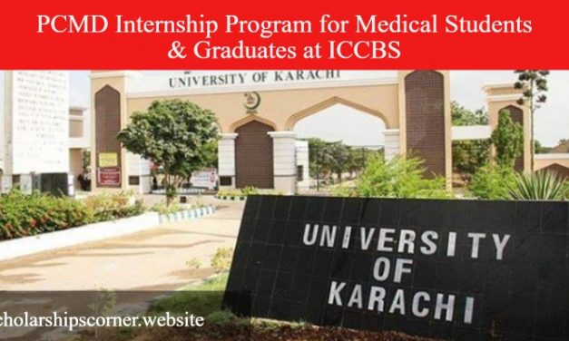 PCMD Internship Program for Medical Students & Graduates at ICCBS University of Karachi