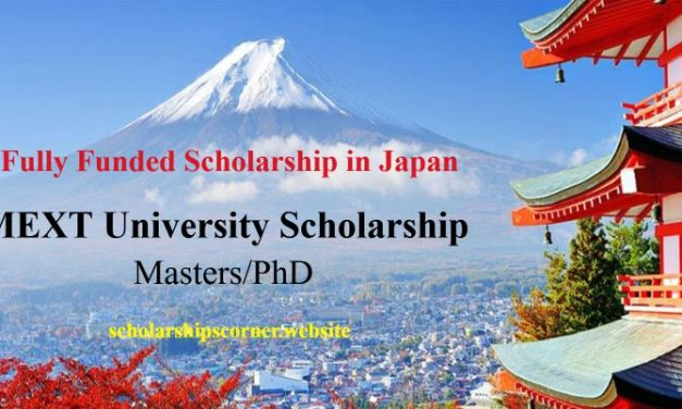 MEXT University Scholarship 2018-19 for Masters and PhD Students – Fully Funded