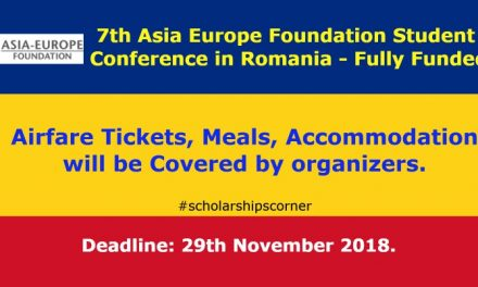 7th Asia Europe Foundation Student Conference in Romania – Fully Funded