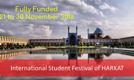 International Student Festival of HARKAT 2018 in Iran – Fully Funded