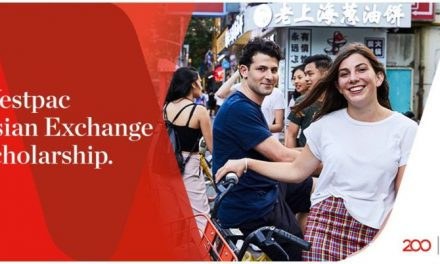 Westpac Asian Exchange Scholarship Semester 2019