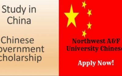 Northwest A&F University Chinese Government Scholarship for International Students 2018-2019