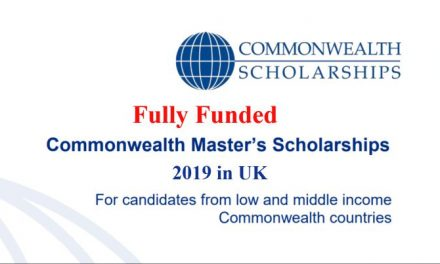 Commonwealth Masters Scholarships 2019 in UK for low and middle income Commonwealth countries