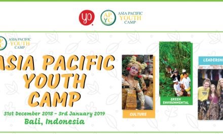 Asia Pacific Youth Camp 2018 in Indonesia