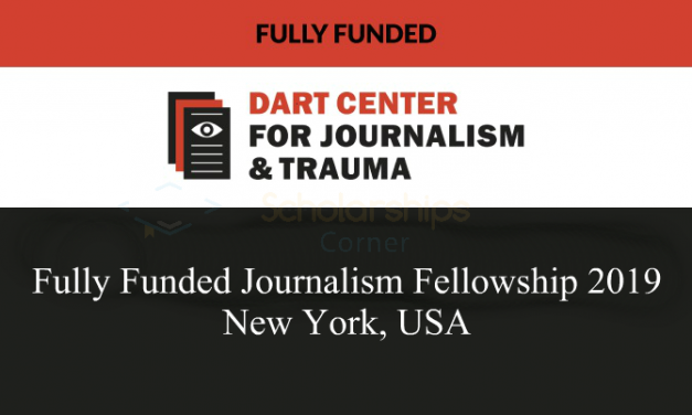 Fully Funded Journalism Fellowship 2019 in New York, USA