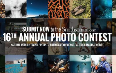 Smithsonian Photo Contest 2018 – Grand Prize USD 2,500