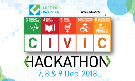 Civic Hackathon 2018 by Code For Pakistan in Islamabad