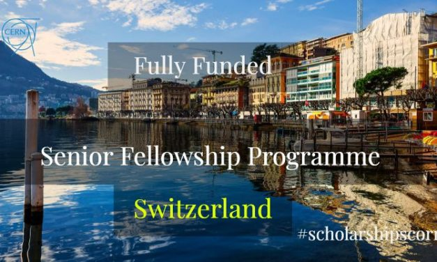 Senior Fellowship Programme 2019 in Geneva, Switzerland [Fully Funded]