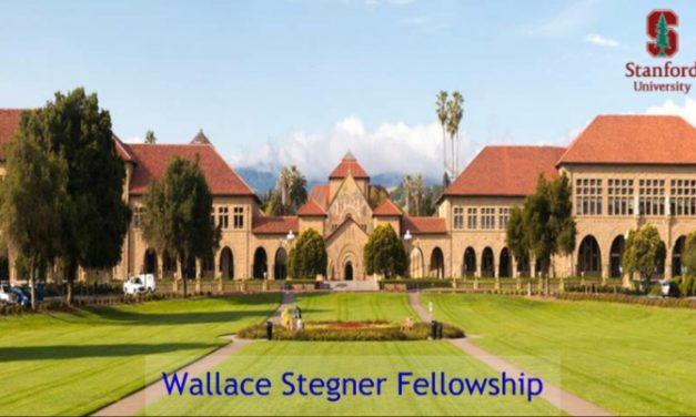 Wallace Stegner Fellowship 2019-21 at Stanford University