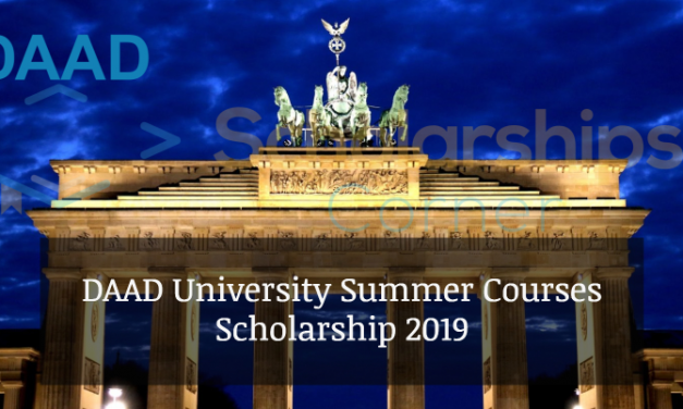DAAD University Summer Courses Scholarship 2019 – Fully Funded