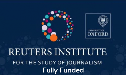 Reuters Institute Journalism Fellowship 2019-2020 in UK – Fully Funded
