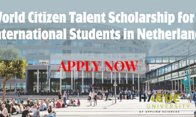 World Citizen Talent Scholarship at the Hague University of Applied Sciences