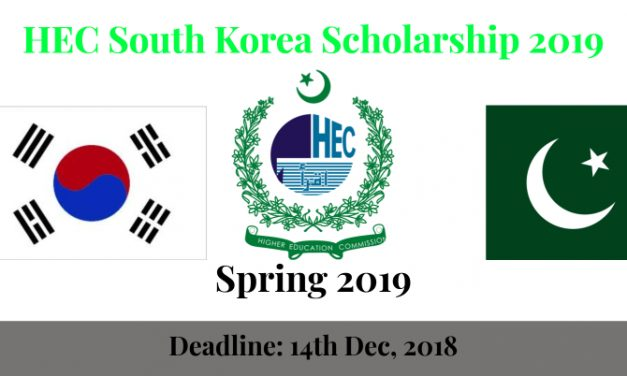 HEC Scholarship 2019 for Pakistani Students in Kumoh National Institute of Technology South Korea