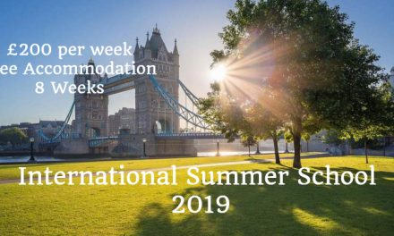 International Summer School UK 2019 – Spend Summer 2019 in UK