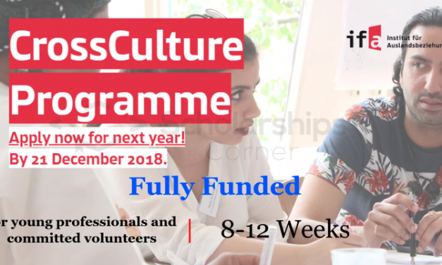 CrossCulture Program 2019 Germany – Fully Funded Cross Cultural Exchange Program