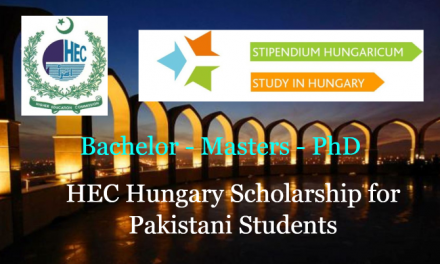HEC Hungary Scholarship for Pakistani Students 2019