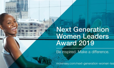 Next Generation Women Leaders Award 2019 by McKinsey & Company