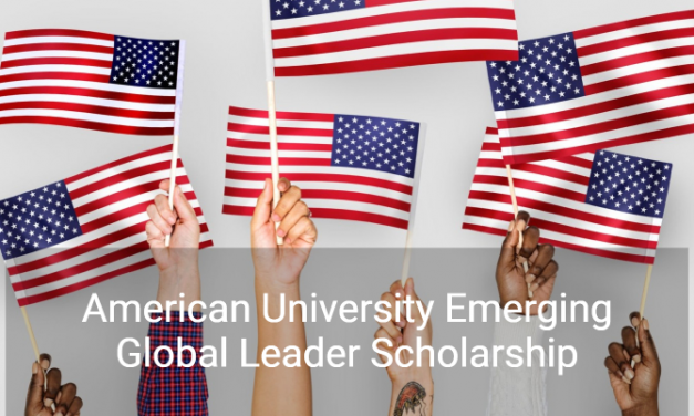 AU Emerging Global Leader Scholarship 2019 in USA