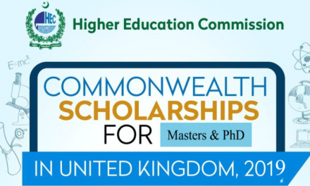 HEC Commonwealth Scholarships 2019 UK for Master and PhD [Full Scholarship]