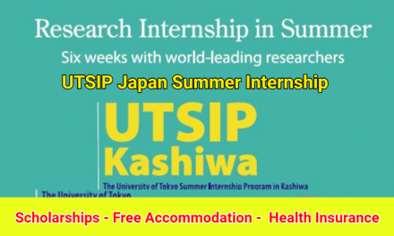 Japan Summer Internship 2020 in Kashiwa – UTSIP Kashiwa
