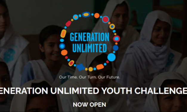 Generation Unlimited Youth Challenge 2018-19 – Chance to Win USD 20,000
