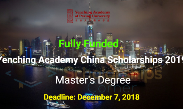 Yenching Academy China Masters Scholarships 2019 at Peking University China – Fully Funded
