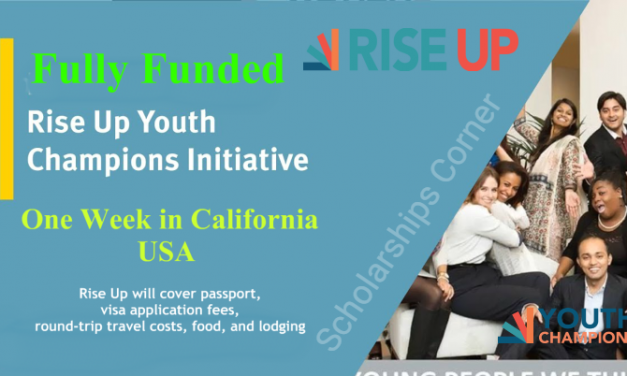 Rise Up Youth Champions Initiative 2019 in California, USA – Fully Funded
