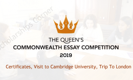 The Queen's Commonwealth Essay Competition 2019 (Win a trip to London)
