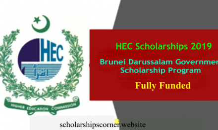 HEC Brunei Darussalam Scholarship 2019 – Fully Funded