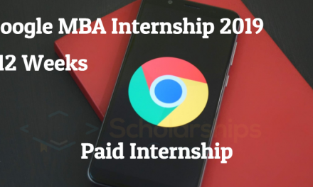 Google MBA Internship 2019 in UK & Ireland- Google Internship