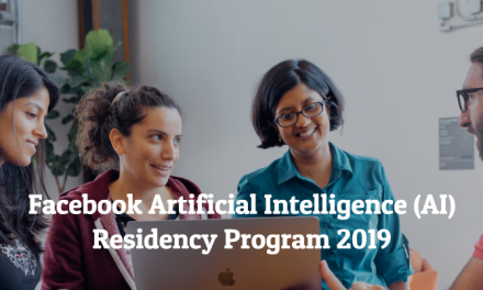 Facebook Artificial Intelligence (AI) Residency Program 2019