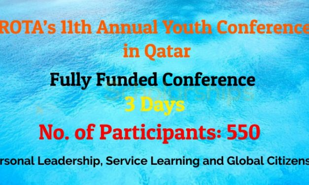 11th Annual Youth Conference 2019 in Qatar  – Fully Funded