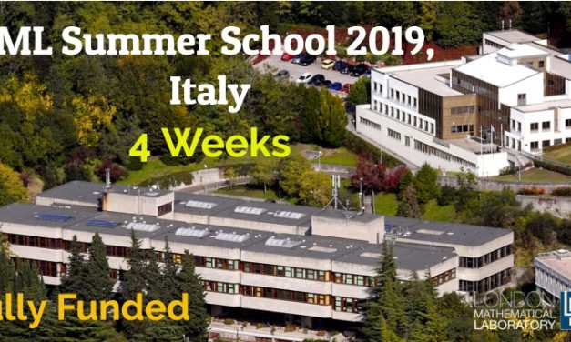 London Mathematical Laboratory LML Summer School 2019 in Italy – Fully Funded