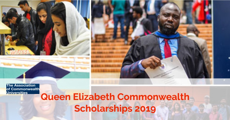 Queen Elizabeth Commonwealth Scholarships 2019 - Fully Funded
