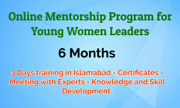 Online Mentorship Program for Young Women Leaders by UNDP