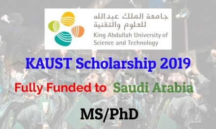 KAUST Scholarship 2019 in Saudi Arabia – Fully Funded