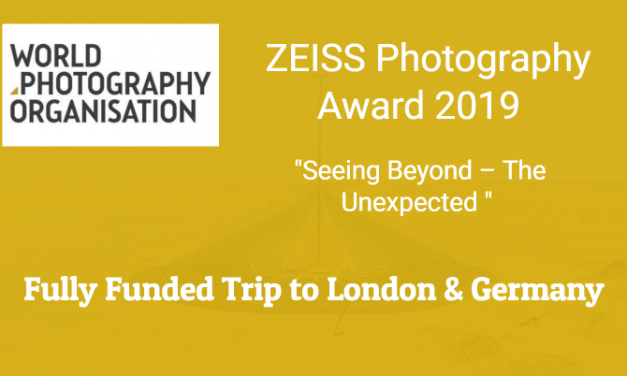 "ZEISS Photography Award 2019 ""Seeing Beyond – The Unexpected """