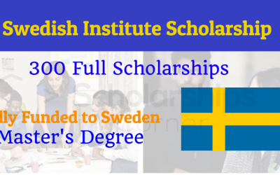 Swedish Institute Scholarships for Global Professionals 2020 [Fully Funded]